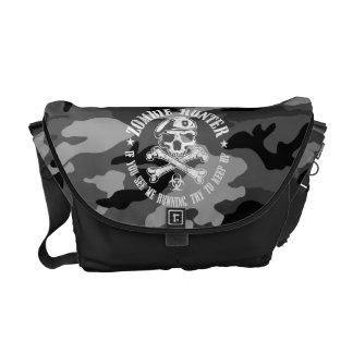 caçador do zombi bolsas mensageiro