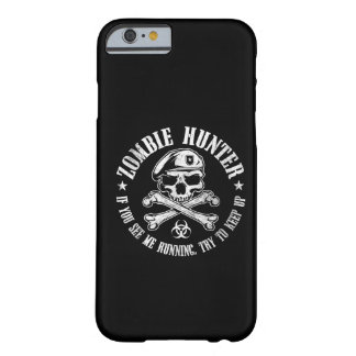 caçador do zombi capa barely there para iPhone 6