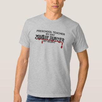 Caçador pré-escolar do zombi camiseta