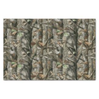 Caçando o lenço de papel da camuflagem