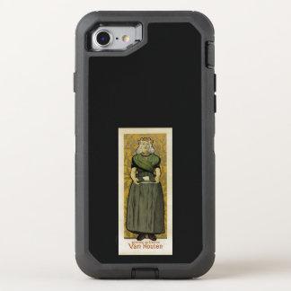 Cacau Van Houten Capa Para iPhone 7 OtterBox Defender
