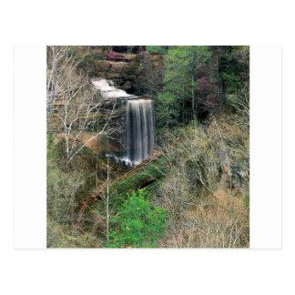 Cachoeira Cliftymadison grande Indiana Cartão Postal
