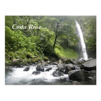Cachoeira, Costa Rica Cartão Postal