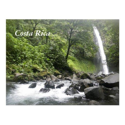 Cachoeira, Costa Rica Cartões Postais