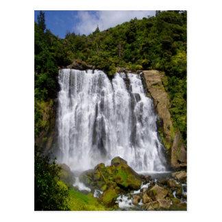 Cachoeira de Nova Zelândia Cartão Postal