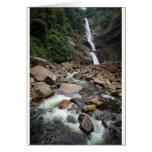 Cachoeira e rio da natureza