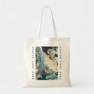 Cachoeira japonesa legal de Hokusai do ukiyo-e do  Bolsa Para Compra