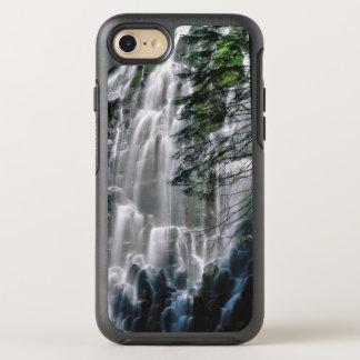 Cachoeira na floresta, Oregon Capa Para iPhone 7 OtterBox Symmetry