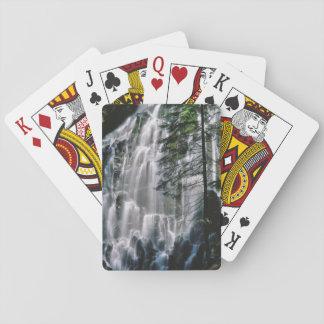 Cachoeira na floresta, Oregon Jogo De Carta