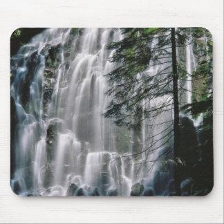 Cachoeira na floresta, Oregon Mouse Pad