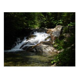 Cachoeira no Pemigewasset Cartão Postal