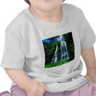 Cachoeira Opaekaa Kauai Havaí Camisetas