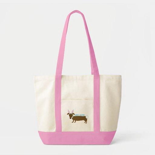 Cachorrinho da páscoa bolsas para compras