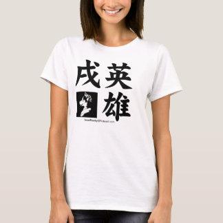 cachorro herói camiseta