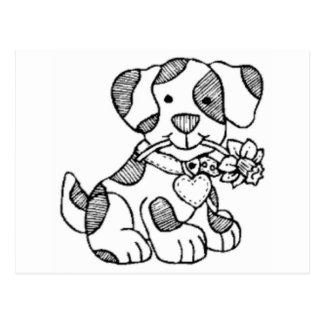 cachorro.png cartão postal