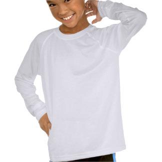 caçoa a camisa da longo-luva do gato do astro camiseta