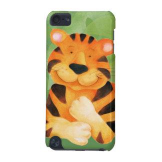 Caçoa a capa do ipod touch da proteção do tigre capa para iPod touch 5G