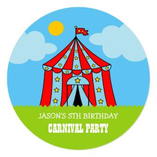 Caçoa convites de festas de aniversários carnaval