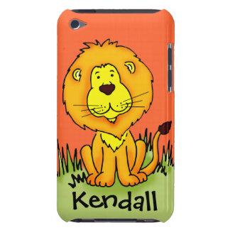 """Caçoa o leão """"sua"""" capa do ipod touch conhecida da"""