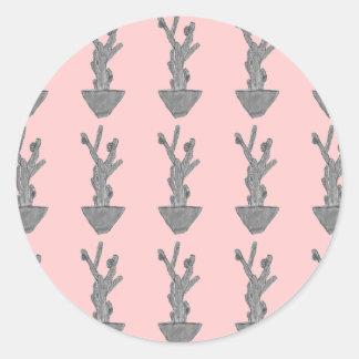 Cacto de Bubblegum Adesivo
