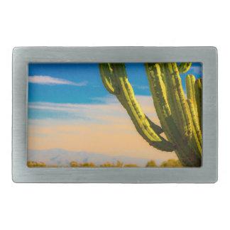 Cacto do Saguaro do deserto no céu azul