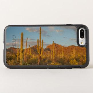 Cacto do Saguaro no por do sol, arizona Capa Para iPhone 8 Plus/7 Plus OtterBox Symmetry