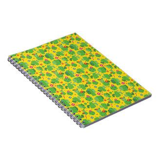 Cacto mim parte externa (amarelo) - caderno