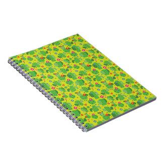 Cacto mim parte externa (verde) - caderno