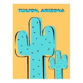 Cacto Tucson AZ do Saguaro dos cartão da lembrança