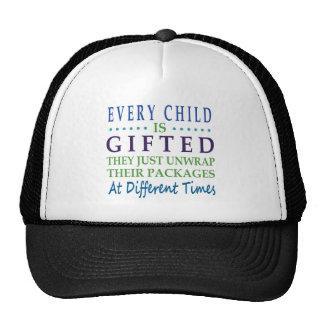 Cada criança autística é citações dotado do boné