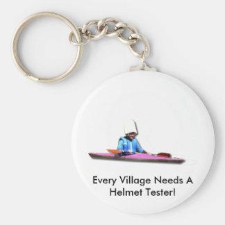 Cada vila precisa um verificador do capacete chaveiro