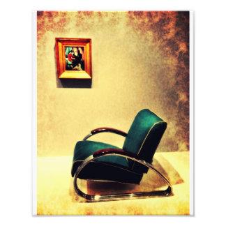Cadeira de Deco Impressão De Foto