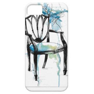 Cadeira de Hepplewhite - aguarela Capa Barely There Para iPhone 5