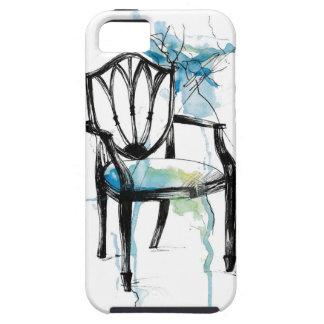 Cadeira de Hepplewhite - aguarela Capas Para iPhone 5