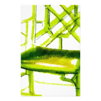 cadeira do chinoiserie para o cartão do lugar