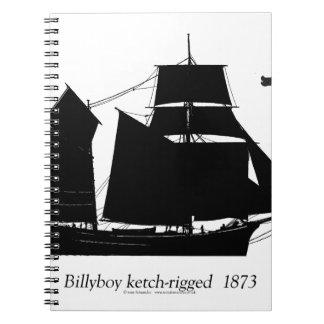 Caderno 1891 Billyboy - fernandes tony