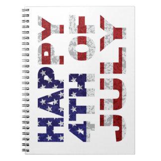 Caderno 4o feliz do esboço Txture Illustr do texto da