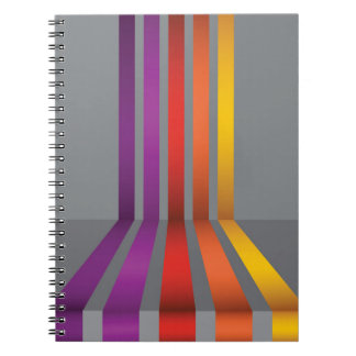 Caderno 80Colorful Lines_rasterized