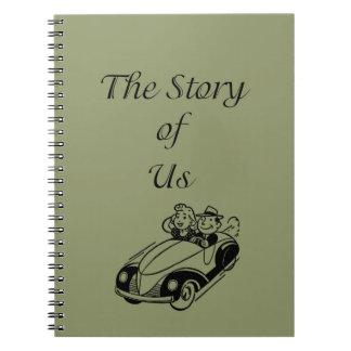 Caderno A história de nós jornal