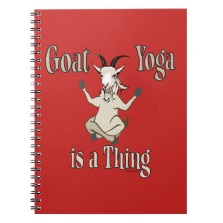 Caderno A ioga da cabra é uma coisa | GetYerGoat™