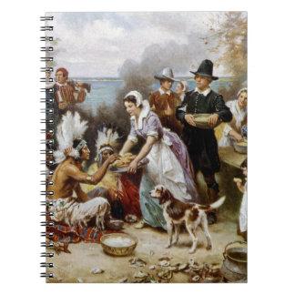 Caderno A primeira acção de graças
