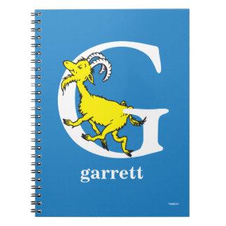 Caderno ABC do Dr. Seuss: Letra G - O branco | adiciona