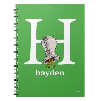 Caderno ABC do Dr. Seuss: Letra H - O branco   adiciona