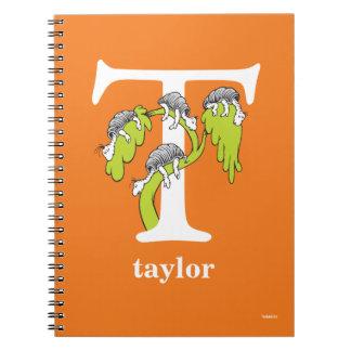 Caderno ABC do Dr. Seuss: Letra T - O branco   adiciona