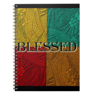 Caderno abençoado de Colorblock