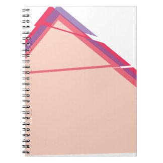 Caderno abstrato