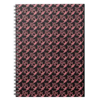 Caderno abstrato do design