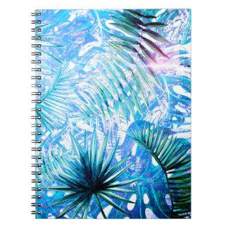 Caderno Aloha palma de BlueTropical e jardim de Monstera