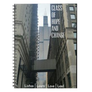 Caderno alto do Promo do suporte de ClassofHC