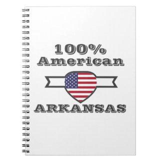 Caderno Americano de 100%, Arkansas